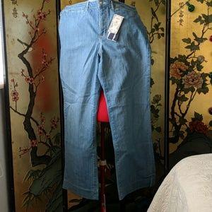 Denim - Wide leg jeans